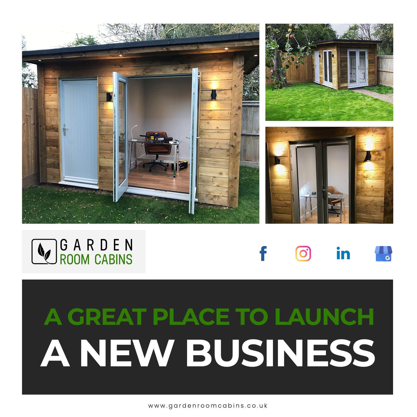 garden room cabins